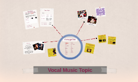 Vocal Music Topic