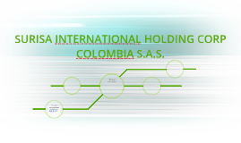 SURISA INTERNATIONAL HOLDING CORP COLOMBIA S.A.S.
