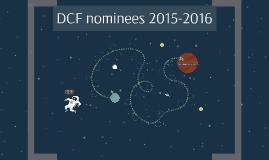 DCF nominees 2015-2016