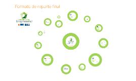 Formato de Reporte Final