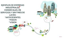 Copy of EJEMPLOS DE EMPRESAS INDUSTRIALES, COMERCIALES, DE SERVICIOS