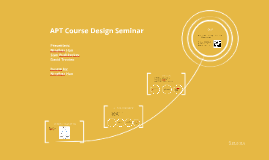 APT Course Design Seminar