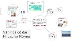 Văn hoá cổ đại Hi Lạp và Rô Ma