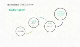 Interactive Oral Activity