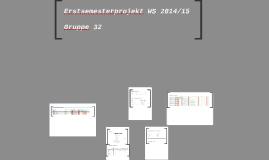 Erstsemesterprojekt WS 2014/15