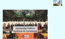 Curso Cerimonial Público: Gabinete Militar