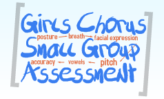 Choral Small Group Assessment