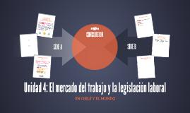 Unidad 4: El mercado del trabajo y la legislación laboral
