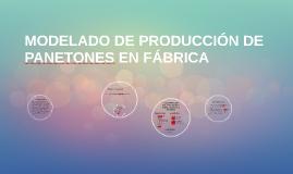 MODELADO DE PRODUCCIÓN DE PANETONES EN FÁBRICA