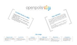 Openpolis: strategy