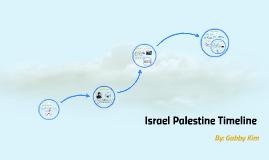 Israel Palestine Timeline