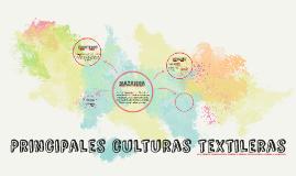 Principales culturas textileras