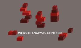 WEBSITE ANALYSIS: GONE GIRL