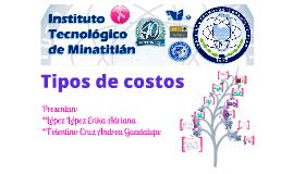 Copy of Tipos de COSTOS