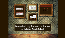 Personalization of Teaching and Learning