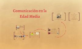 Comunicación en la Edad Media