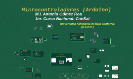 Copy of Microcontroladores (Arduino)