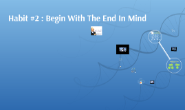 Habit #2 : Begin With The End In Mind