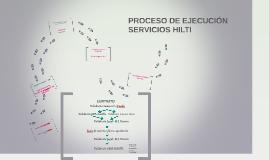 PROCESO DE EJECUCION SERVICIOS HILTI