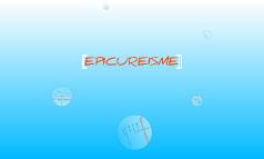 Epicureisme