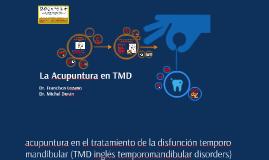 Acupuntura en TMD
