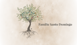 Familie Santo Domingo