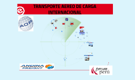 Copy of TRANSPORTE AEREO DE CARGA INTERNACIONAL