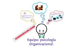 PSICOLOGÍA SOCIAL HOMOSEXUALIDAD