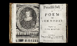 "Copy of John Milton and ""Paradise Lost"""