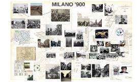Milano '900 (a.a. 2017-18)