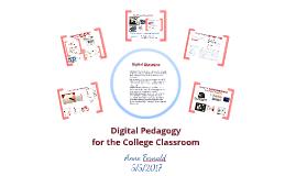 Digital Pedagogy tools