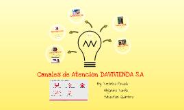 Canales de Atencion DAVIVIENDA S.A