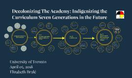 University of Toronto April 5, 2018