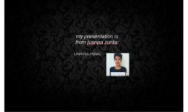 my presentation is