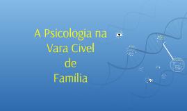 A Psicologia na