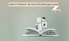 Rebel in Petticoats: The Life of Elizabeth Cady Stanton