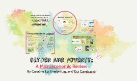 Gender and poverty: