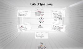 Critical Lens Essay HOW-TO