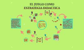 Copy of EL JUEGO COMO ESTRATEGIA DIDACTICA