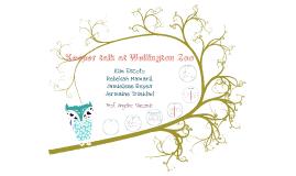 Copy of Keeper talk at Wellington Zoo