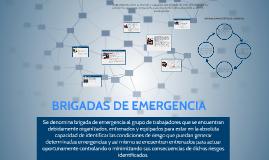 Copy of BRIGADAS DE EMERGENCIA