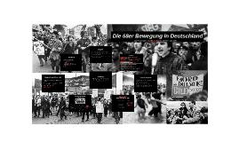 Die 68er Bewegung
