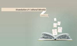 Translation & Cultural Identity