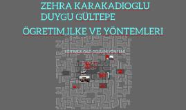 Copy of EGITIMDE GÖZLEM-GEZI YÖNTEMI