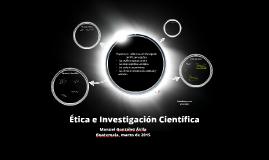 Etica e investigación científica