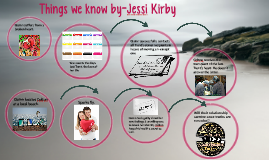 Things we know by-Jessi Kirby
