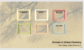 Drones in Urban Forestry