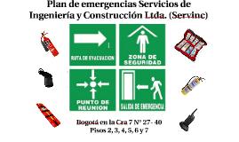 2018 CAPACITACIÓN PLAN DE EMERGENCIAS