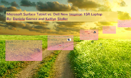 Microsoft Surface Tablet vs. Dell New Inspiron 15R Laptop