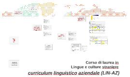 Corso di laurea in Lingue e culture straniere